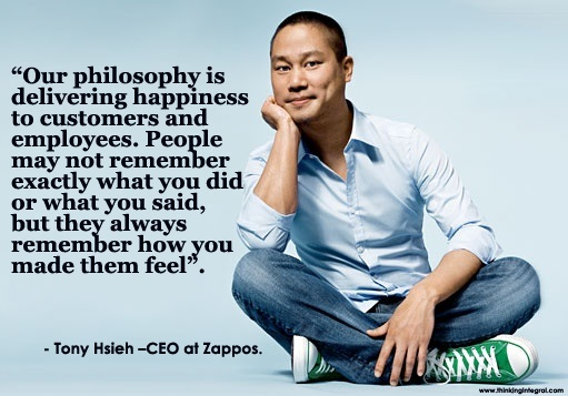 Wise words from a fun-loving CEO
